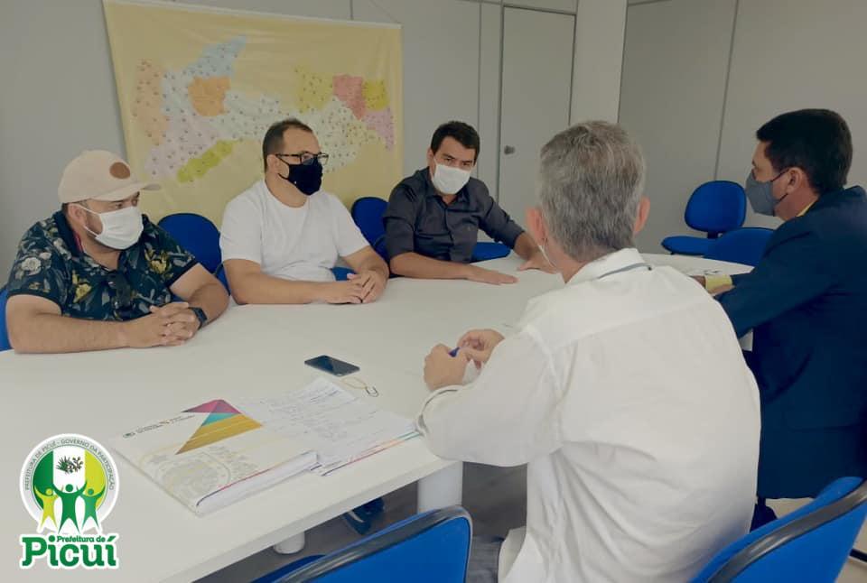 Prefeito Olivânio se reune com Secretário de Articulação Municipal da Paraíba, nesta terça-feira