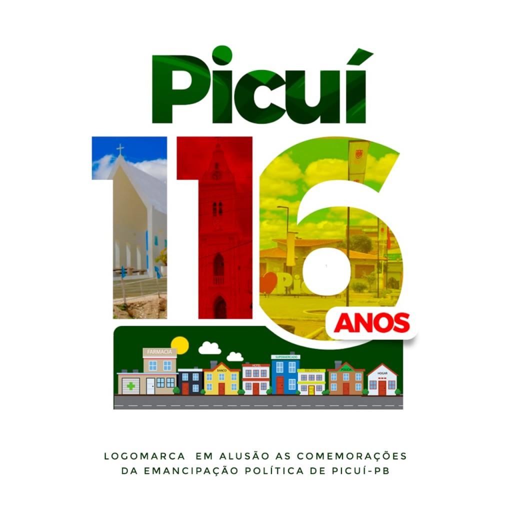 Prefeitura Municipal de Picuí Lança Logomarca Oficial das Festividades de Emancipação Política