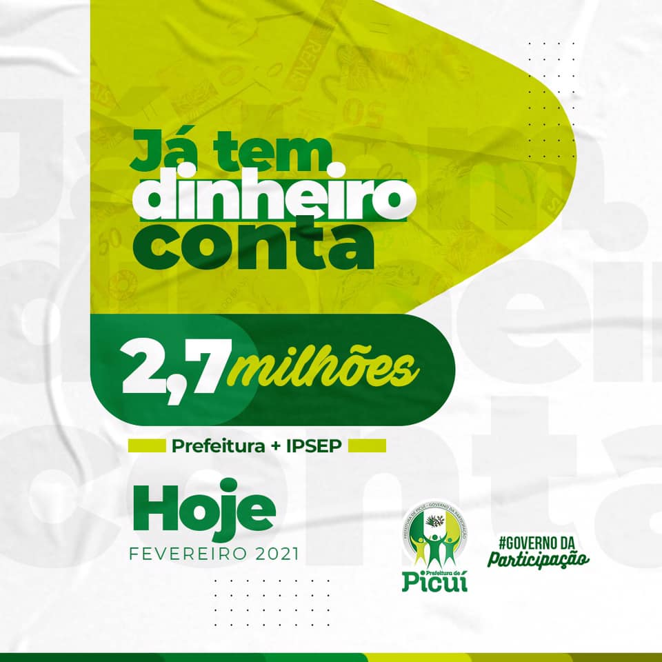 Prefeitura de Picuí Realiza Pagamento dos Servidores Públicos Municipais e IPSEP