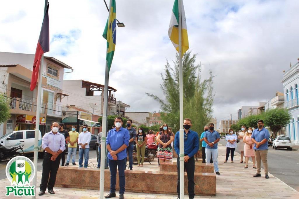 Cerimônia de Abertura das Comemorações em alusão aos 117 anos de Emancipação Política de Picuí é Realizada com Sucesso