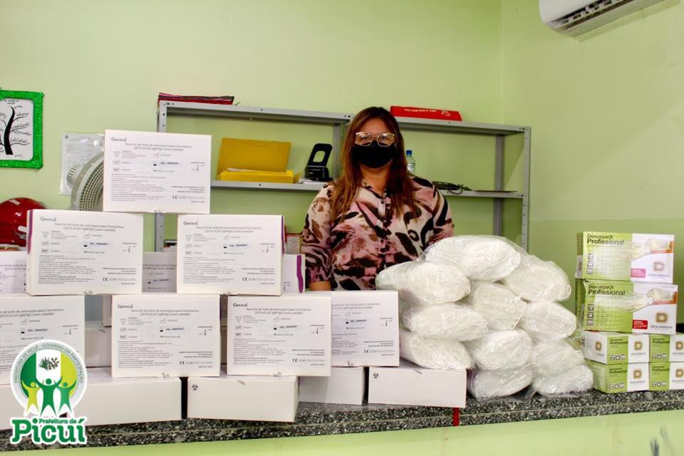 Secretaria de Saúde realiza aquisição de mais 4 mil testes Rápidos e EPIs