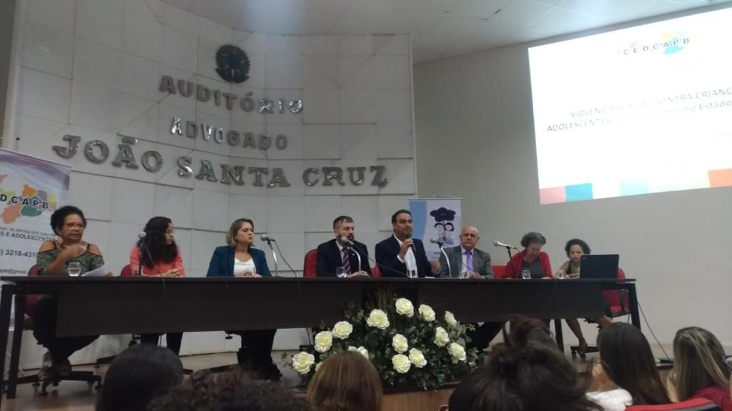 Secretaria de Assistência Social, Conselho Tutelar e CMDCA participam de audiência pública em João Pessoa