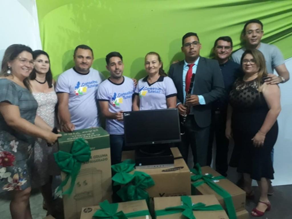 Prefeitura de Picuí entrega equipamentos de informática e eletrodomésticos para o Conselho Tutelar