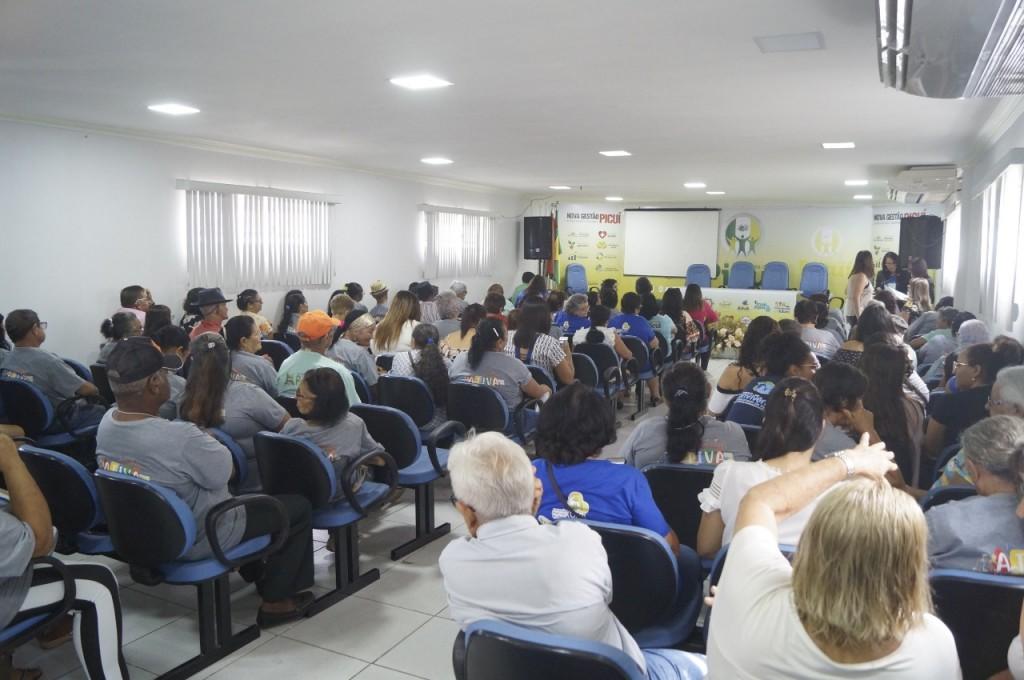 III CONFERÊNCIA MUNICIPAL DE DEFESA DOS DIREITOS DA PESSOA IDOSA DE PICUÍ FOI REALIZADA NO DIA 13 DE MARÇO