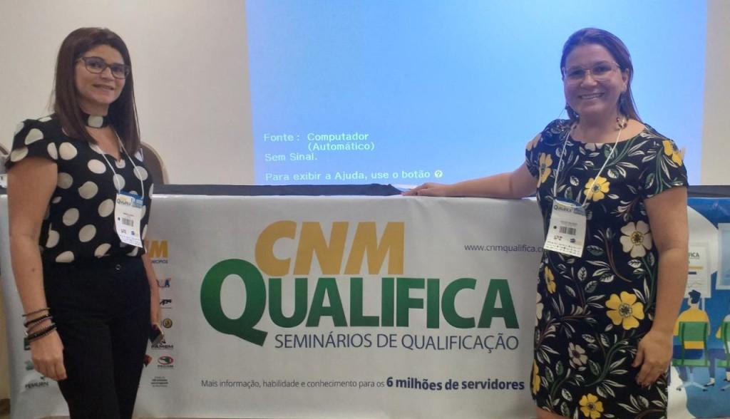 Picuí presente no seminário da CNM Qualifica:  Gestão Municipal no Sistema Único de Assistência Social