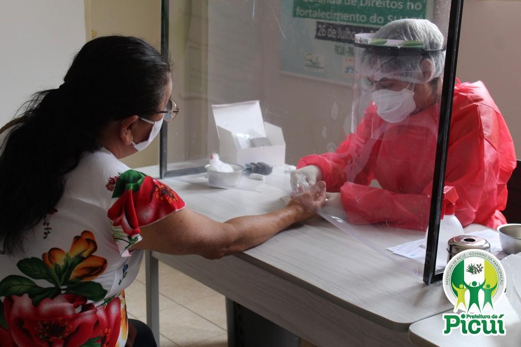 CEMUT Realiza Testagem de Pacientes Diabéticos e Hipertensos do Bairro Limeira