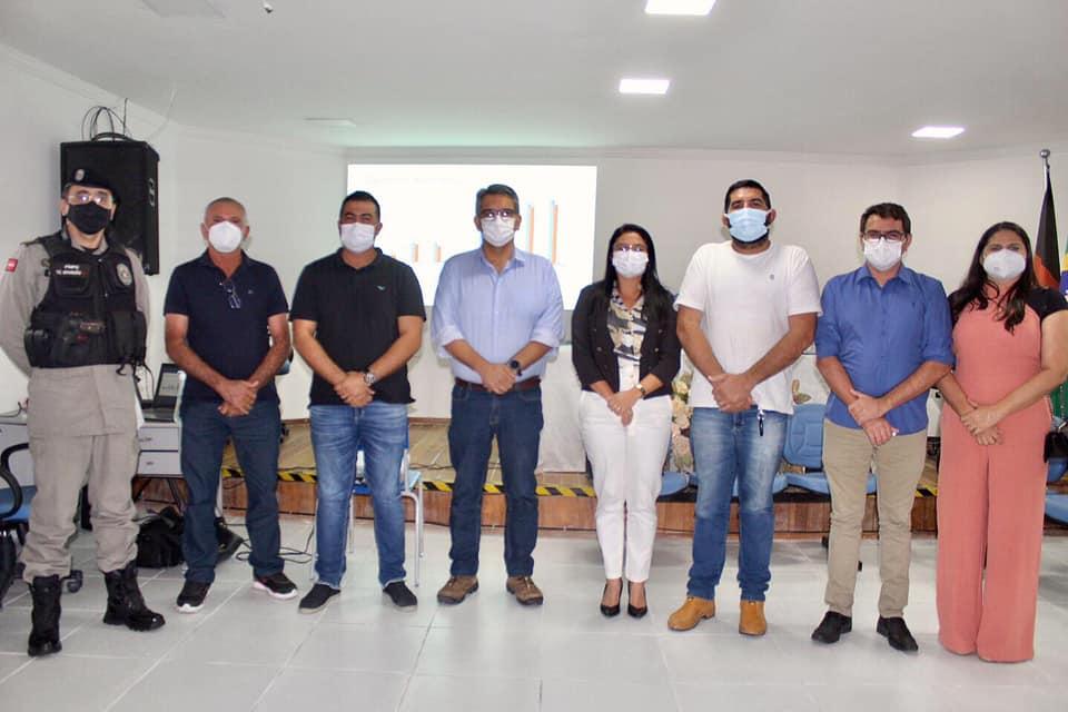 Prefeito de Picuí Realiza Reunião com Prefeitos da Região do Curimataú e Seridó para Tratar de Ações contra a COVID-19