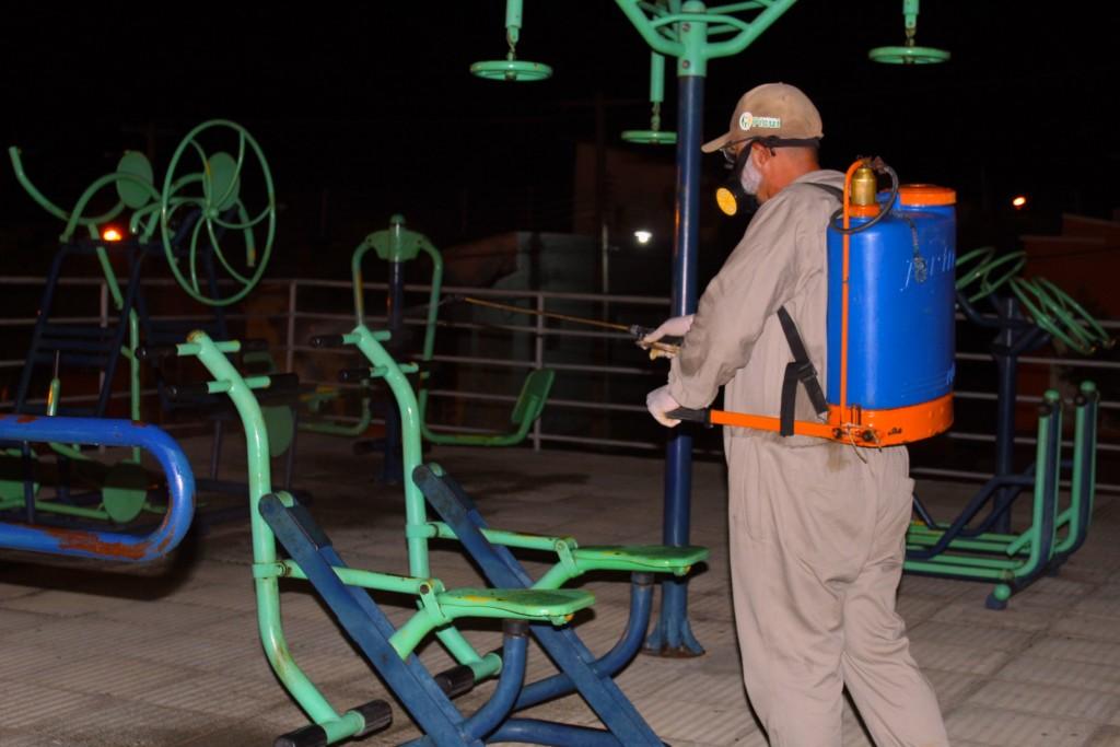 CEVAMS Continua a Realizar a Desinfecção das Repartições Públicas