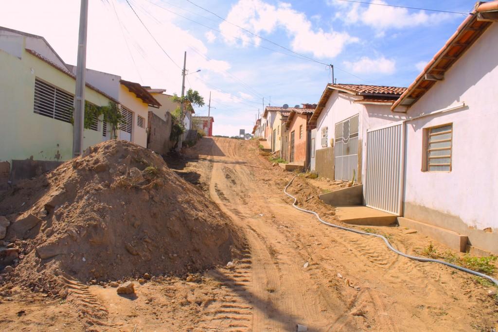 Prefeitura de Picuí Dá Início a mais uma Pavimentação na Zona Urbana do Município