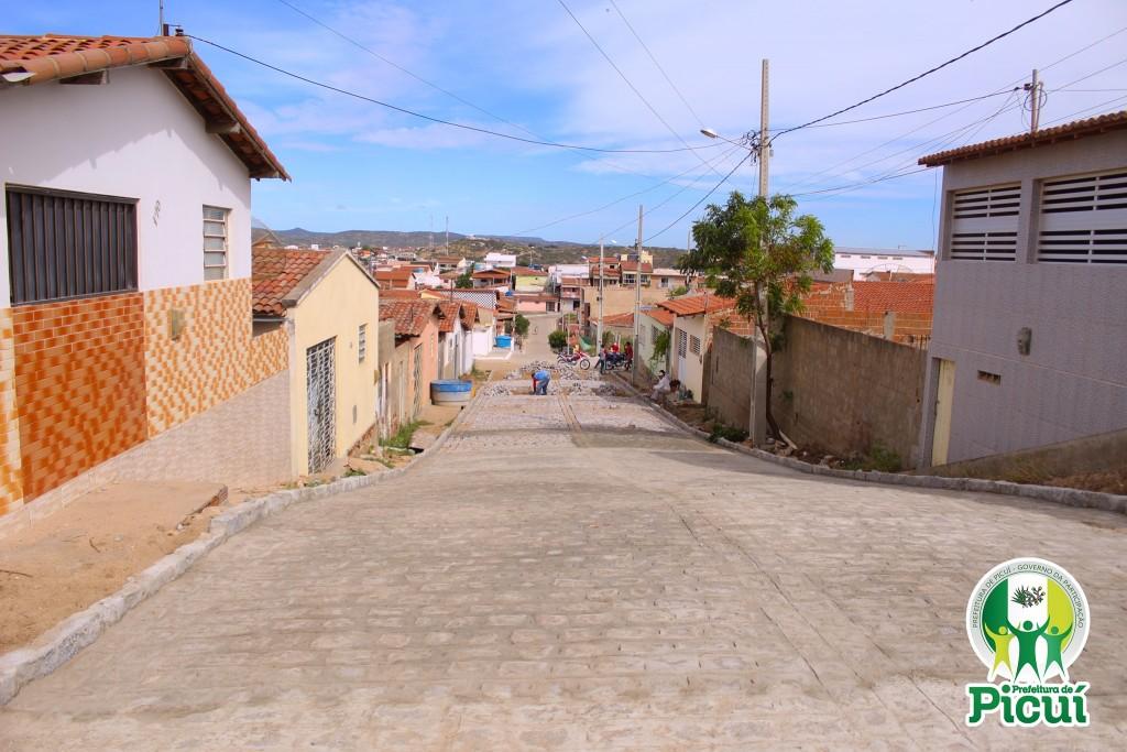 Pavimentação da Rua Joaquim Pacífico Dantas é Concluída com Sucesso