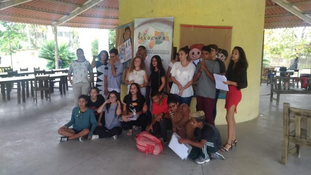 Adolescentes picuienses participam da elaboração da Conferência Estadual dos Direitos da Criança e do Adolescente