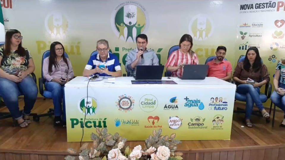 Prefeitura de Picuí inicia Campanha 18 de Maio