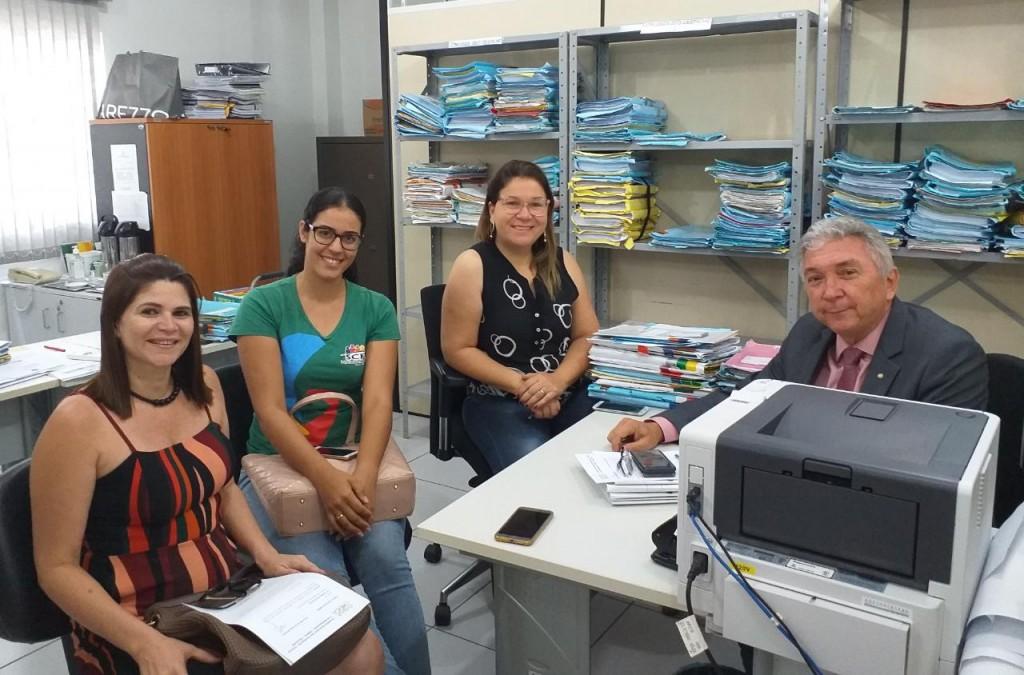 CMDCA apresenta o projeto NACAD para o MP e fortalece a rede de proteção em Picuí