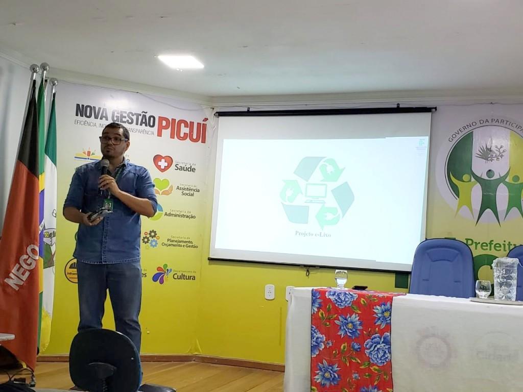Prefeitura de Picuí e IFPB realizam primeira atividade do Projeto E-Lixo