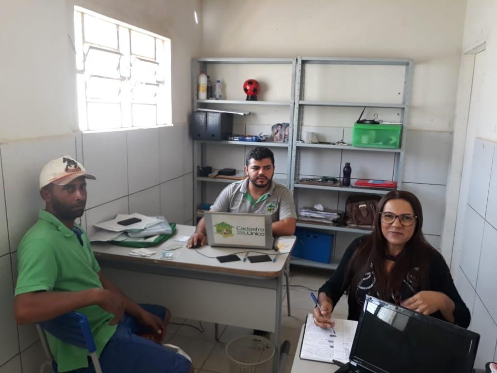 CRAS e Programa Bolsa Família Itinerante realizam atendimento no Distrito de Serra dos Brandões