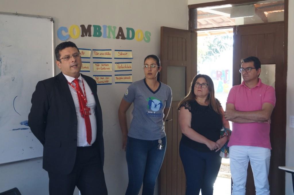 NACAD–Picuí recebe visita técnica do Programa Amigo de Valor