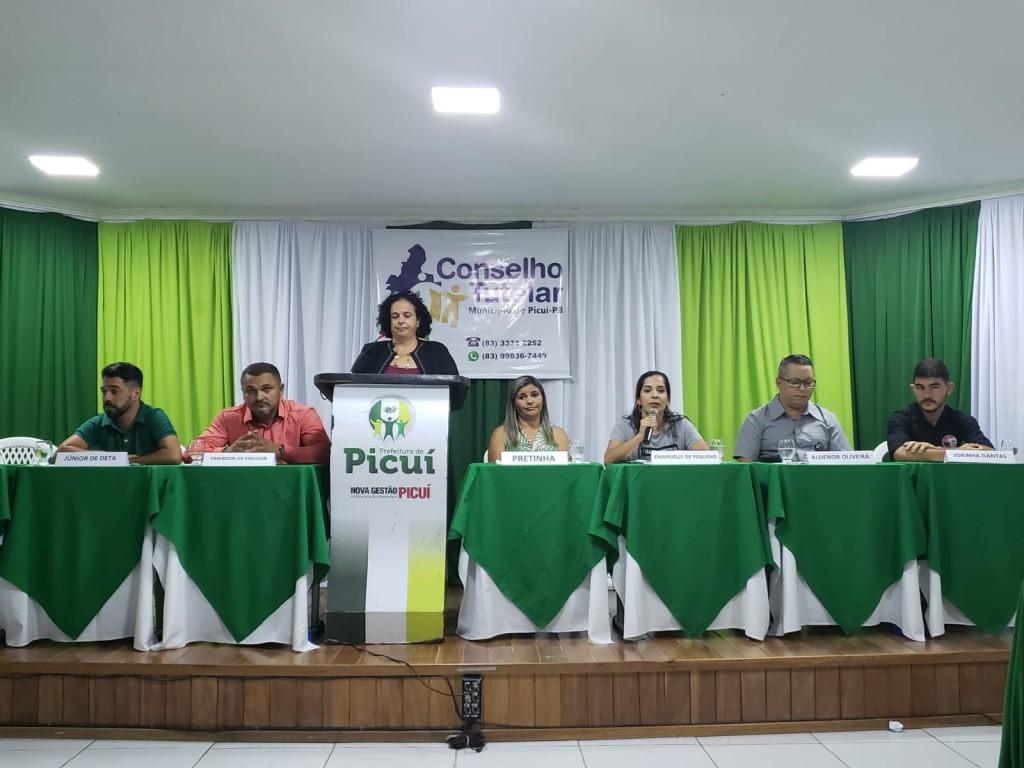 Prefeitura de Picuí e CMDCA realizaram debate com candidatos ao conselho tutelar