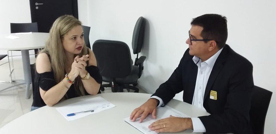 Em viagem à Brasília Prefeito Olivânio Remígio segue em busca de recursos