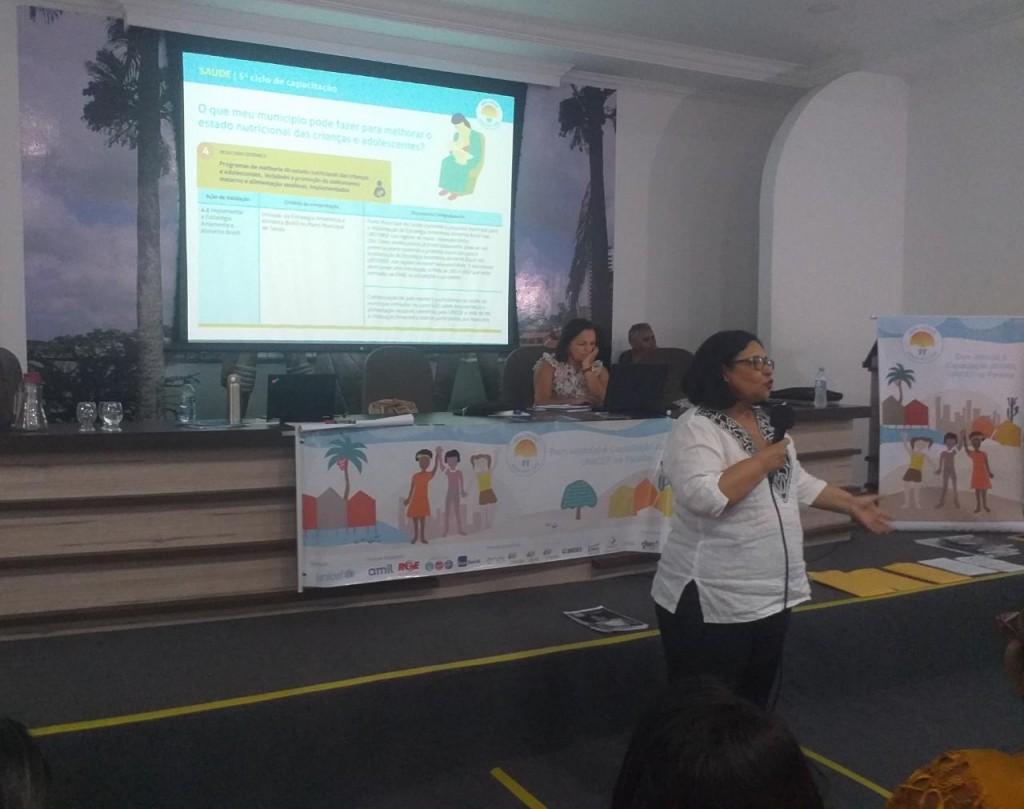 Município de Picuí participa do 5º Ciclo de Capacitação do Selo Unicef