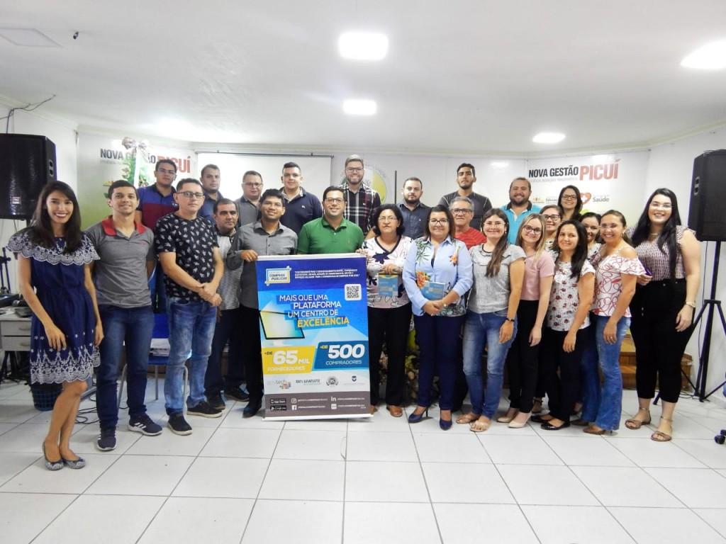 Portal de Compras Públicas realiza capacitação sobre pregão eletrônico no município de Picuí