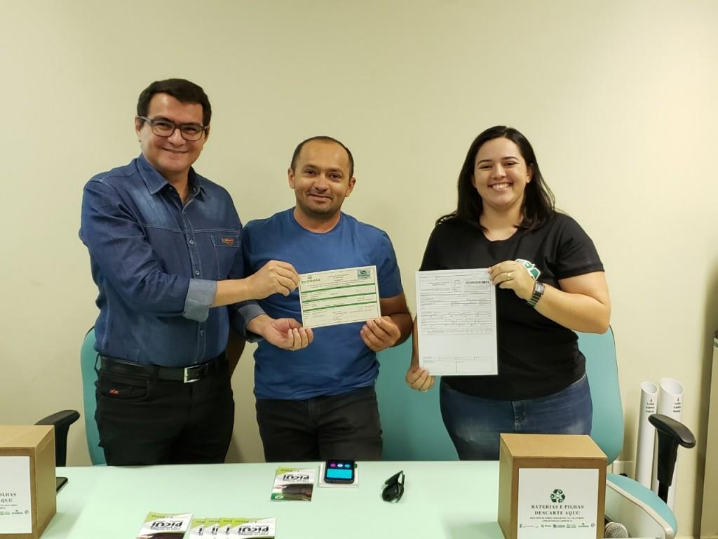 ECOPONTO de Picuí recebe Certificação de Destinação de Resíduos