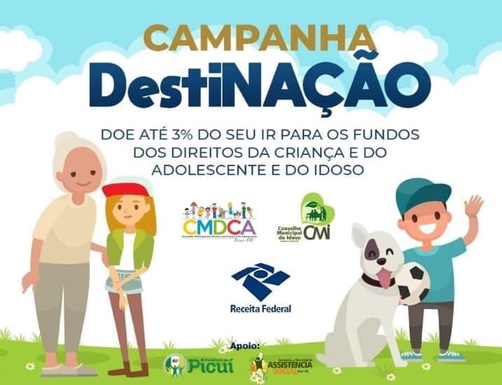 Campanha Destinação é Lançada em Prol das Crianças, Adolescentes e Idosos