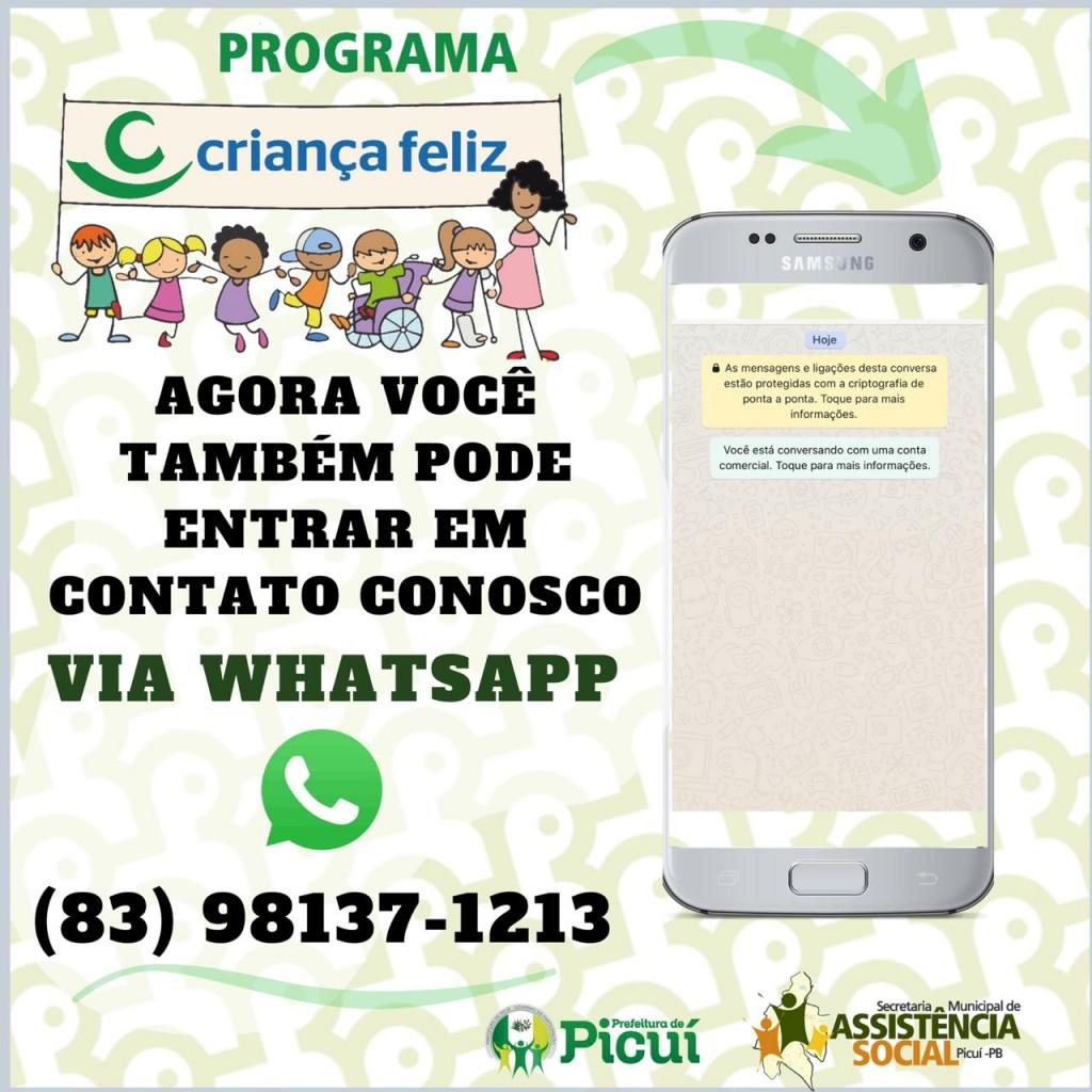 Programa Criança Feliz Realizará Atendimento Online pelas Redes Sociais