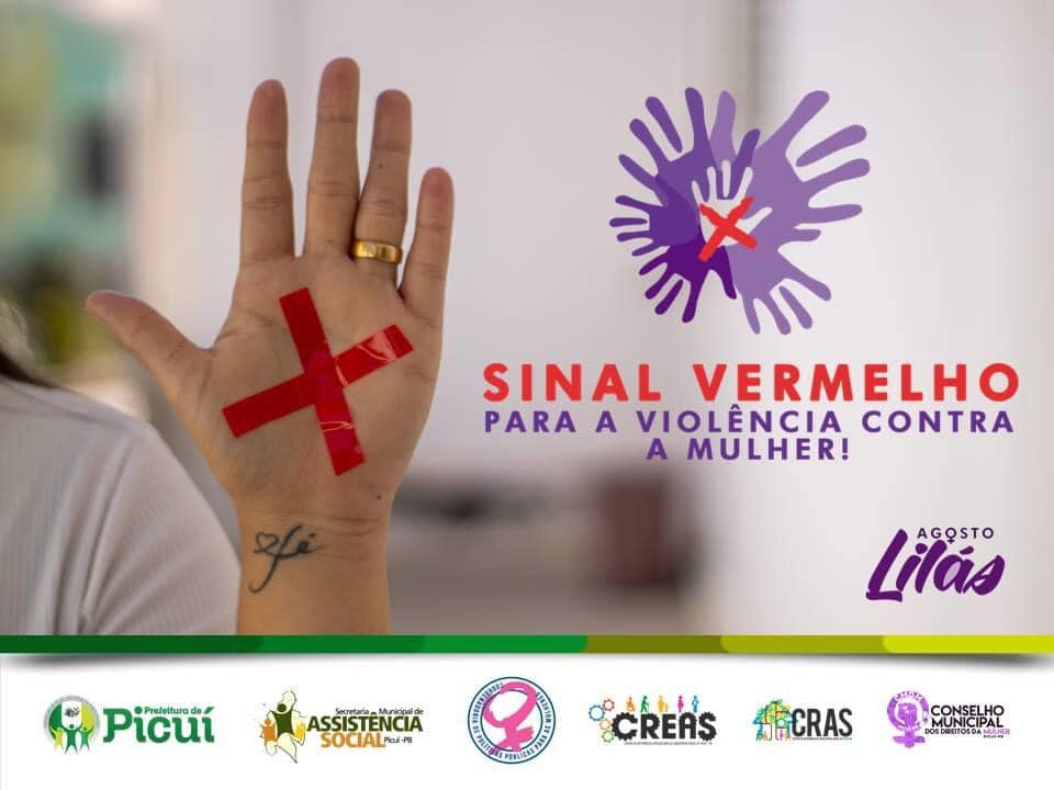 Agosto Lilás: Prefeitura de Picuí Lança Campanha Municipal de Combate à Violência contra as Mulheres