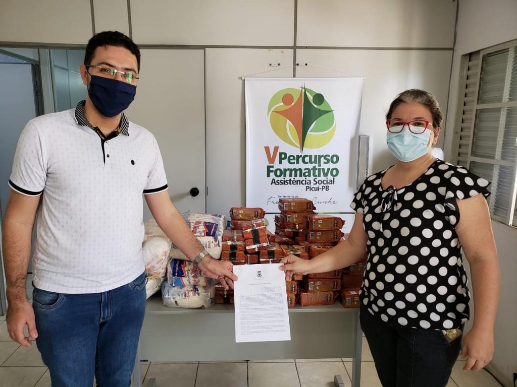Banco de Alimentos de Picuí é Contemplado com Doação do Centro de Educação e Saúde da UFCG