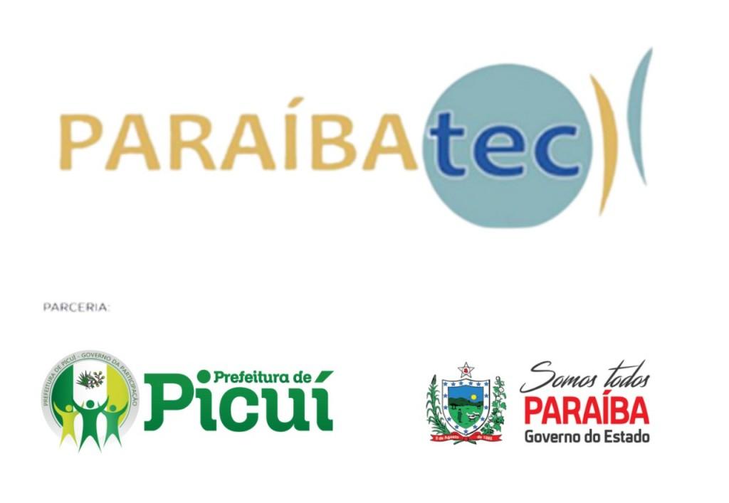Picuí foi Selecionado em Dois Cursos Profissionalizantes do Programa Paraibatec