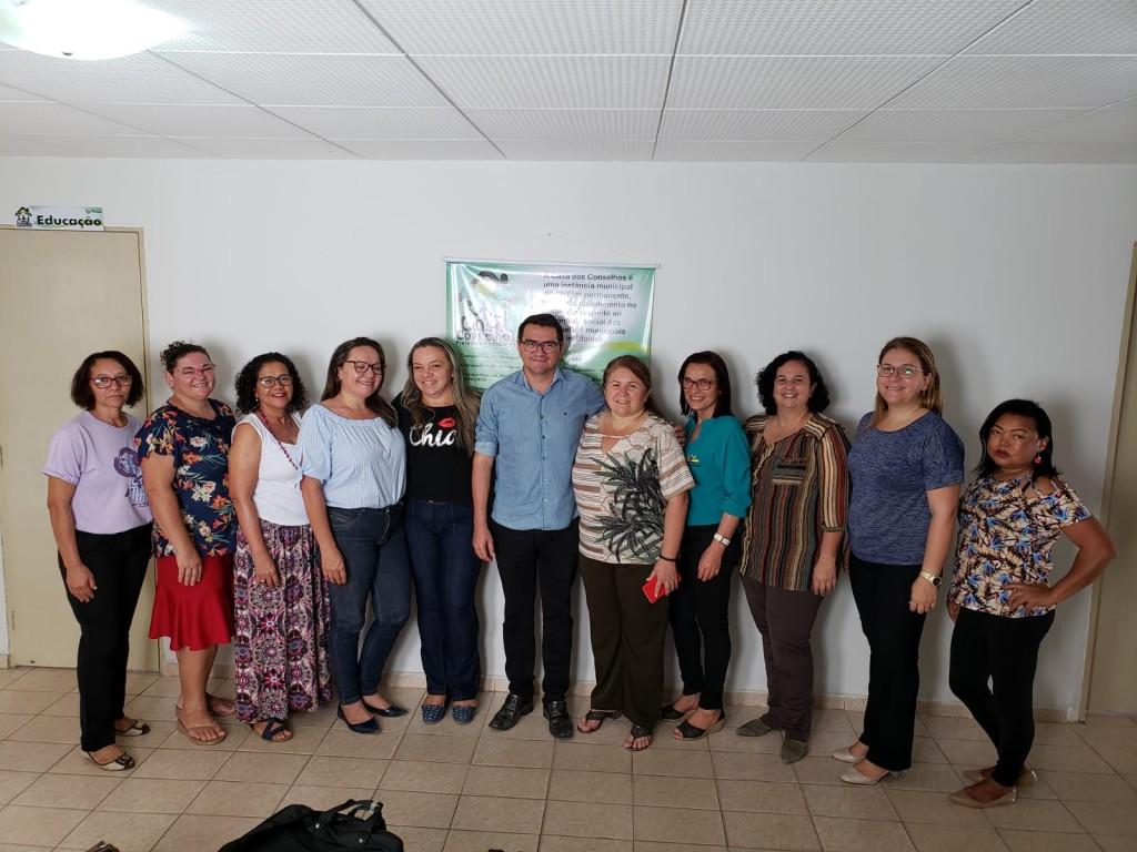 Prefeito Olivânio Remígio dá posse às novas integrantes do Conselho Municipal dos Direitos da Mulher