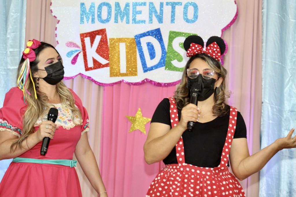 Momento Kids Virtual é Promovido na Rede Municipal de Ensino