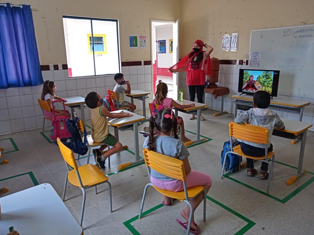 O FELIZ RETORNO ÀS AULAS PRESENCIAIS DA EDUCAÇÃO INFANTIL PICUIENSE