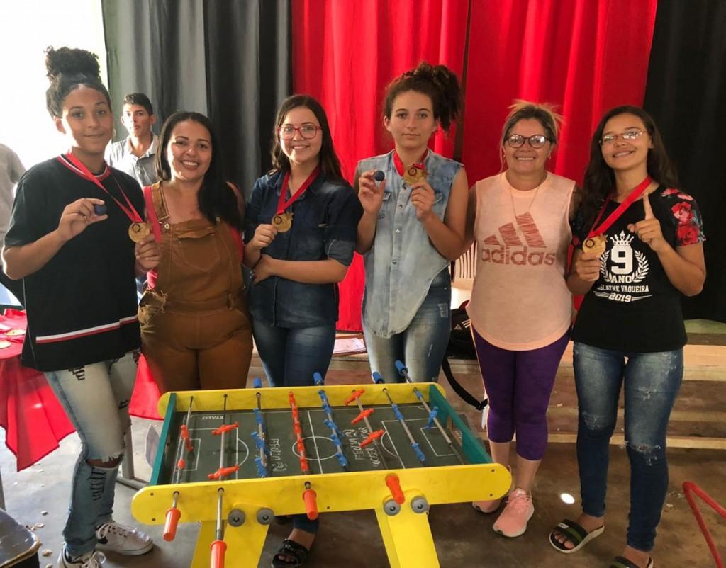 1.º Campeonato de Pebolim é realizado em escola de Santa Luzia