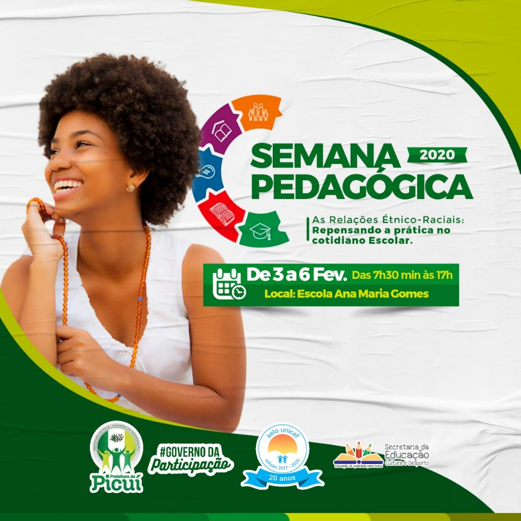 Rede Municipal de Ensino Promove XX Semana Pedagógica
