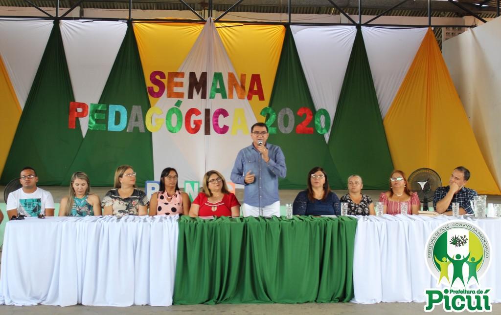 Prefeitura Municipal de Picuí realiza Abertura Oficial da XX Semana Pedagógica
