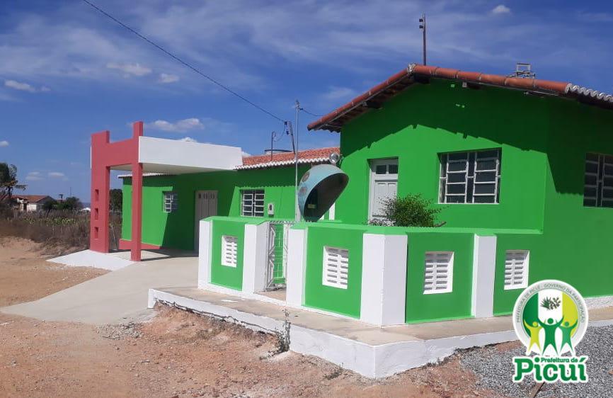 Reforma da UBS da Comunidade Rural Serra Baixa é Conlcuida
