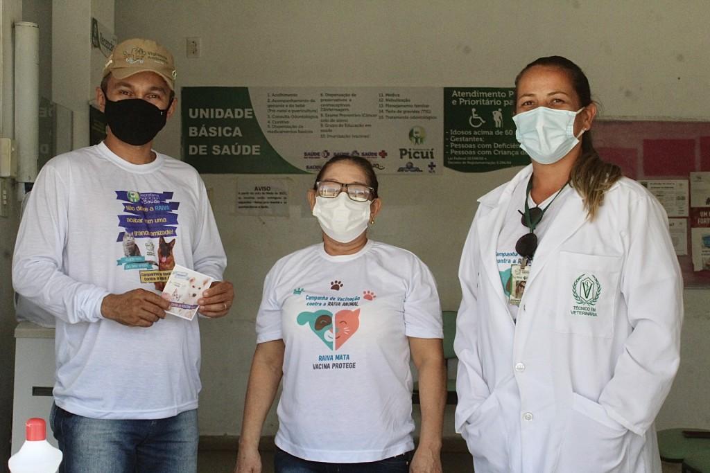 Dia D da Campanha de Vacinação Antirrábica é Realizado com Sucesso em Picuí