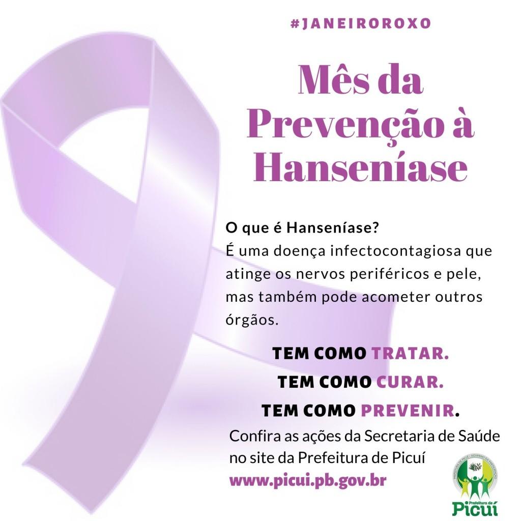 Secretaria de Saúde Realiza ações socioeducativas em alusão ao Mês da Prevenção à Hanseníase